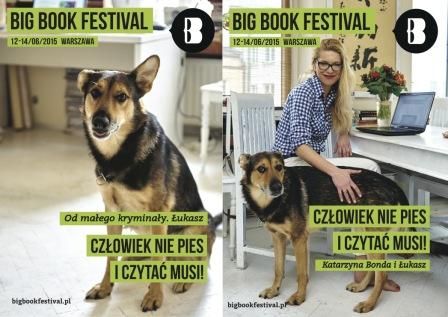 BBF2015.Czlowiek nie pies i czytac musi! Katarzyna Bonda i Lukasz.jpg